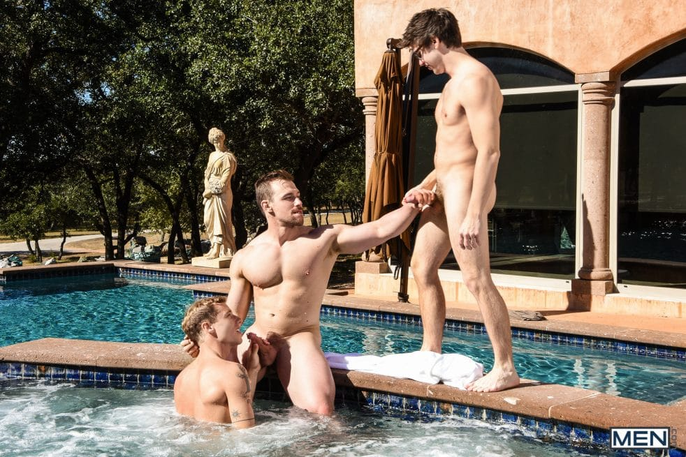 Gay Pool Sex